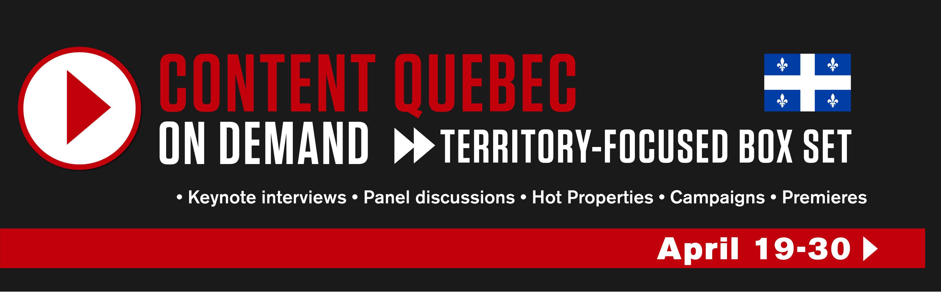 Content Quebec On Demand